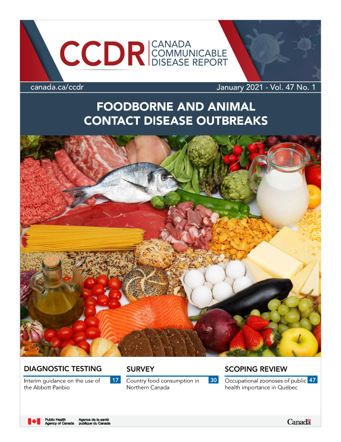 Volume 47-01, January 29, 2021: Foodborne and Animal Contact Disease Outbreaks